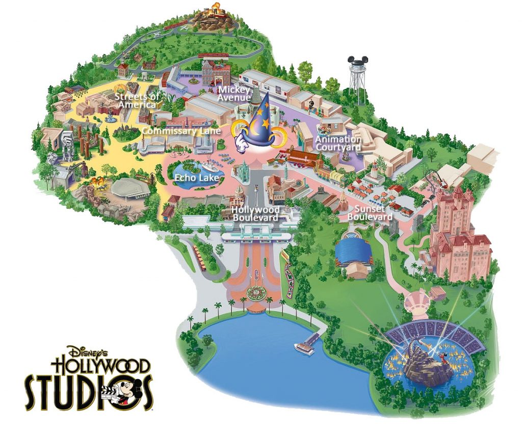 picture relating to Printable Animal Kingdom Map referred to as Maps of concept parks within just Orlando - GaskaTours, Inc.