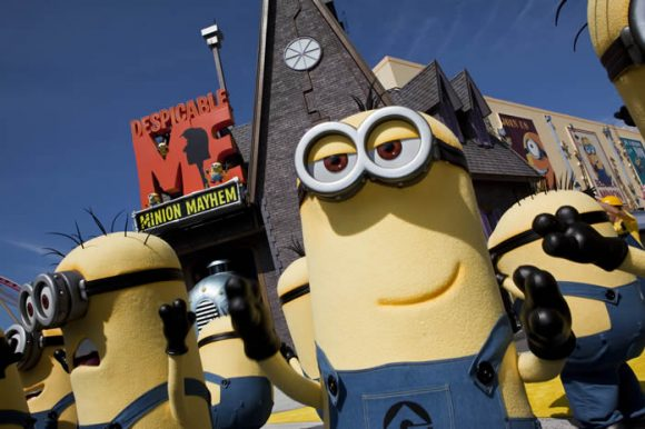 Universal Studios Despicable Me Minion
