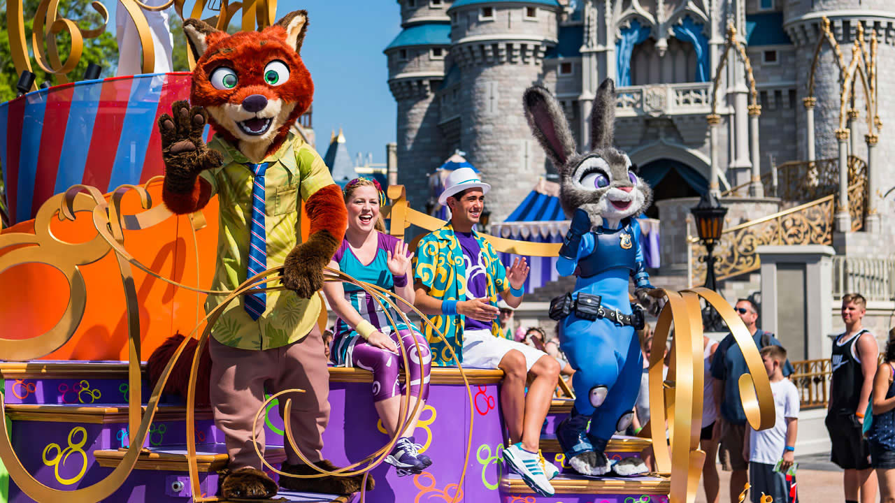 Disney Orlando Magic Kingdom