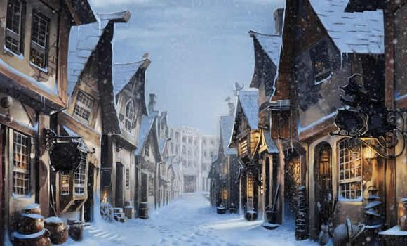 Harry Potter Hogsmeade